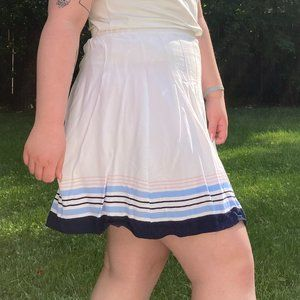 Old Navy Pleated crepe skirt